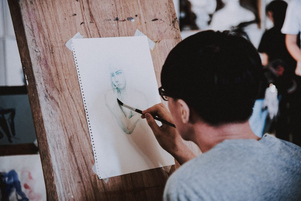 avoid college student burnout by finding a creative outlet